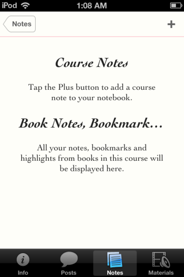 A place to organize personal notes and bookmarks.
