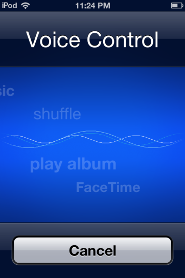 Not Siri, but the iPod still has basic voice controls.