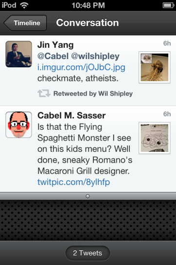 Follow conversations in Tweetbot.
