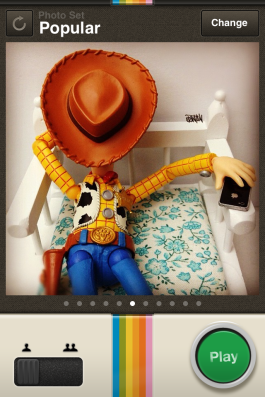 InstaGamer is a stylish take on Memory.