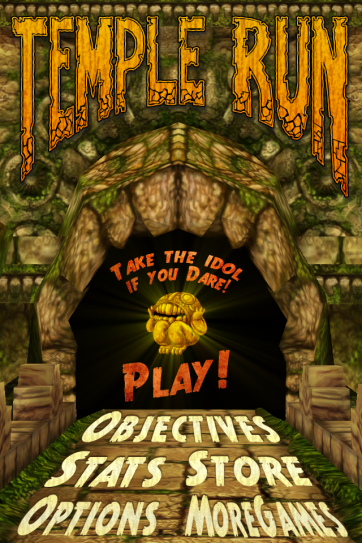 Temple Run: my new addiction.