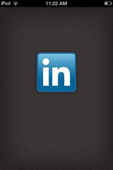 LinkedIn evokes a conference feel from the get-go.
