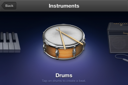 Garageband is a whole set of virtual instruments in your pocket.