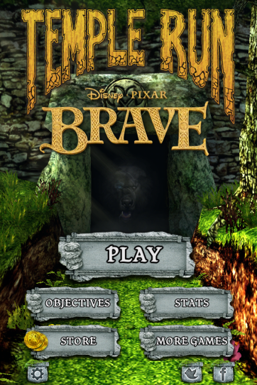Temple Run + Brave is a winning comnination.