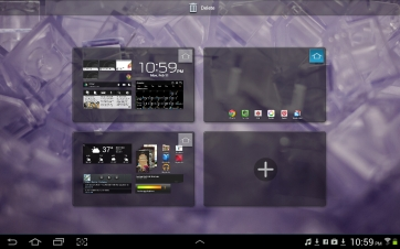 Hey look! In ICS, you can manage your homescreens. (I actually preferred just one.)