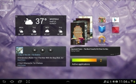 Some more widgets and icons.