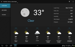 Eye in the Sky was my favorite weather app for Android.