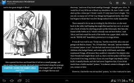 Reading in Google Play Books.