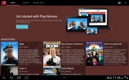 Browsing Play Movies.