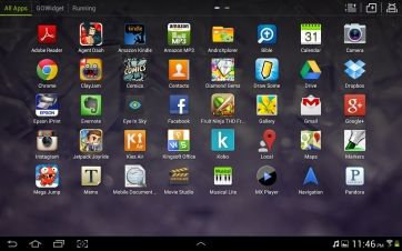 The Go app launcher.