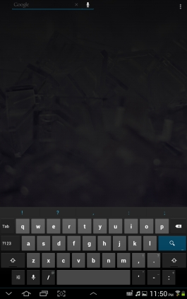 The portrait keyboard is nigh unto unusable. Just too cramped.