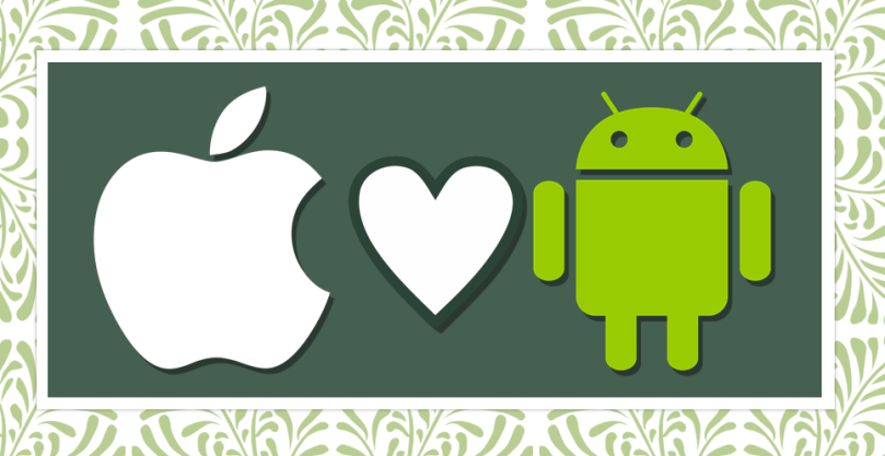 apple-android-love