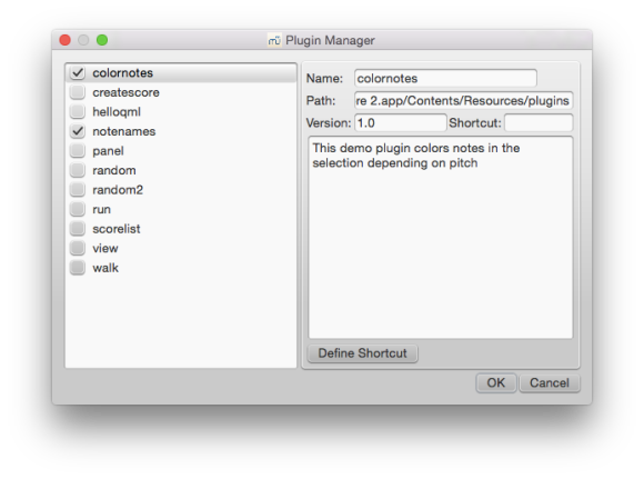 The plugin manager.