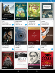 Books in my Google Play library.