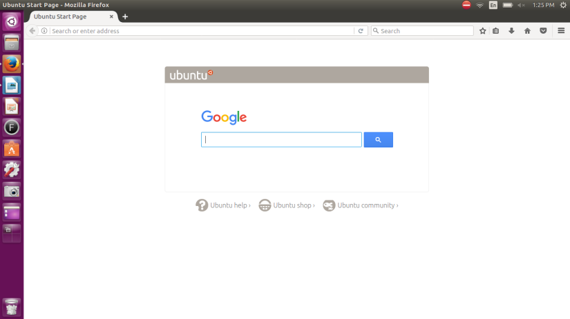 Firefox on Ubuntu